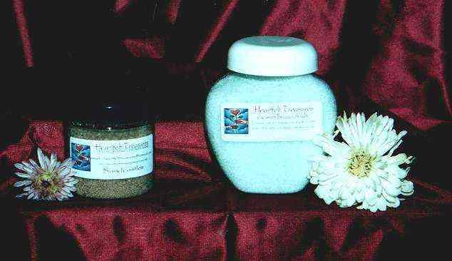 Bath salts are a great stress breaker!